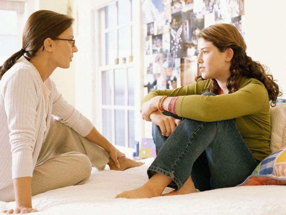 разговор отца с дочкой подростком на тему секса