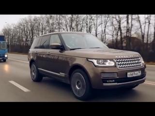 Range Rover Supercharged. Тест-драйв в программе Москва рулит