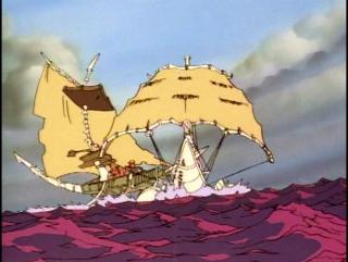 Пираты Темной Воды — Сага Начинается 2 серия из 21 / The Pirates Of Dark Water: The Saga Begins Episode 2 (1991 – 1993)