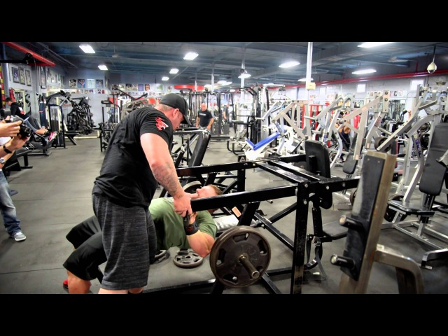 212 Olympia Champion Flex Lewis Training Video - 4 weeks from 2015 Mr.Olympia