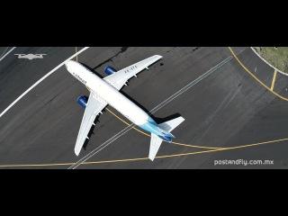 Никогда не летайте рядом с аэропортами. Это видео было создано с разрешения и надзором властей   Mexico City International Airport from Above