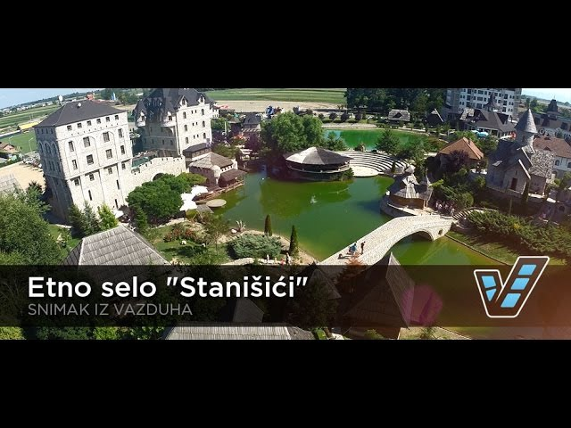 Etno selo Stanišići snimak iz vazduha INVENIO FILMS