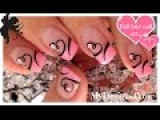 Easy Valentine's Day Nail Art  Dise