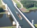 Магдебургский водный мост Wasserstraßenkreuz Magdeburg