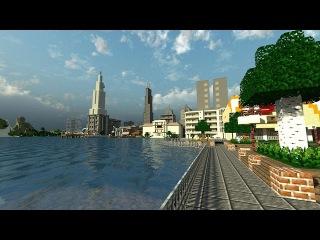Строю Город Майнкрафт. Часть 1