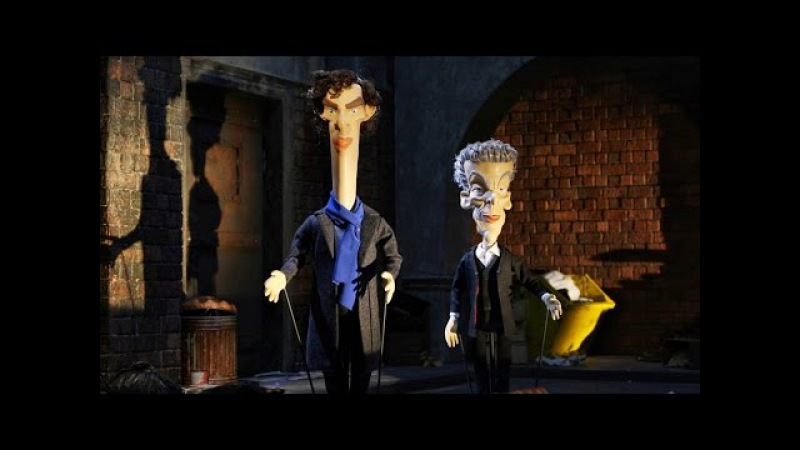Sherlock Doctor Who Crossover: The Writting Quality Falls - Newzoids