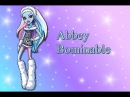 Монстер Хай на русском Невесты Школы монстров / Monster High Abbey Bominable Monster High Bride