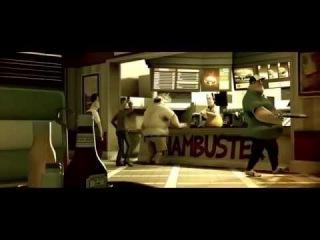 Гамбургер-УБИЙЦА (Гамбустер)  - короткометражный мультфильм-ужастик