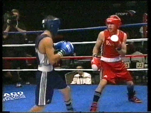 Albert Selimov-Bahodirjon Sultonov.AIBA World Boxing Championships 2007.57 kg