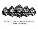 Гарик Сукачев и Неприкасаемые Серенькие ежики