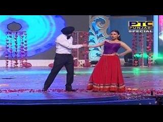 Diljit Dosanjh & Neeru Bajwa's Dance Performance | PTC Punjabi Film Awards 2014