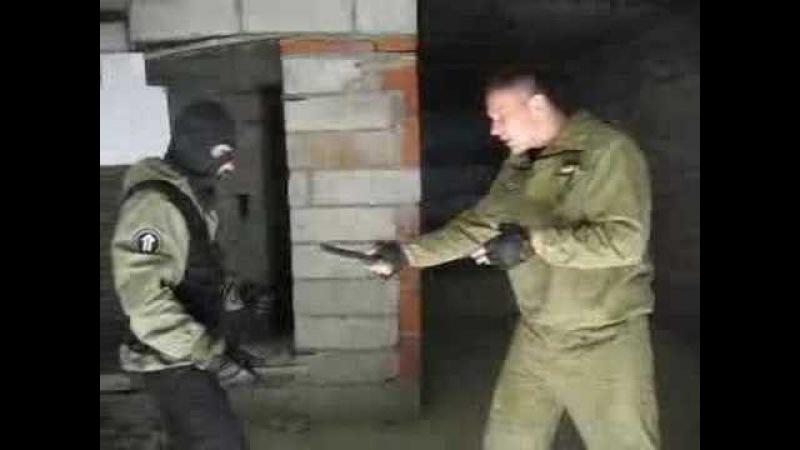 Краткий инструктаж по ножевому бою