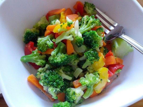 Как приготовить брокколи в салат
