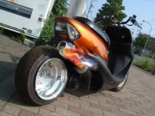 Honda Dio Хонда Дио тюнинг-