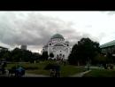 звон колоколов Храма Святого Саввы.Белград,Сербия.