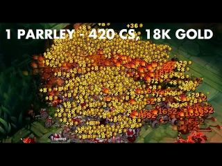 1 PARRRLEY - 420 CS, 18000 Gold, 3360 Silver Serpents