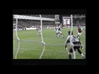 Freddie Ljundberg awesome goal vs Juventus 2001