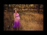 Осенняя фотосессия беременности