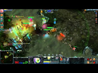 Heroes of Newerth Mid Wars #7 - Supporting the team a little [Nymphora] (sk3dl0s3)