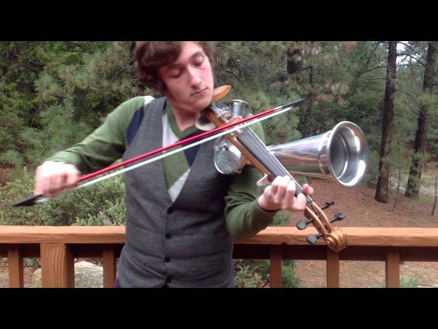 Stroh Horn Violin, Aluminum Horn