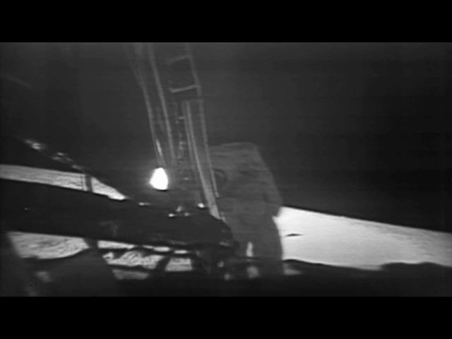 Apollo 11 Moonwalk Montage