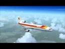 FSX Full flight from Madrid to Barcelona (LEMD - LEBL) on Lockheed L-1011 TriStar Iberia
