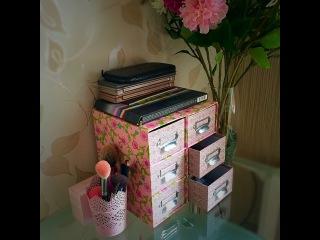 Хранение косметики: моя версия (мимимишная коробочка)