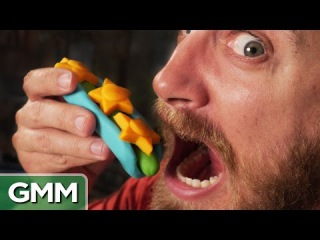 Making Real Food w/ Play-Doh Toys | Реальная еда из пластилина