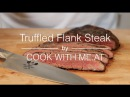 Truffled Flank Steak - Reverse Seared on the Big Green Egg - COOK WITH ME.AT