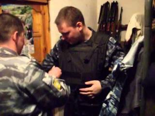 Как собирали бойца в наряд.ПВД Ленинского- Старомысловского района г. Грозный.