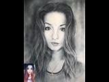 Портрет девушки / Diana / Сухая кисть