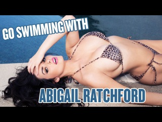 Abigail Ratchford Proves She's The Ultimate Pool Vixen