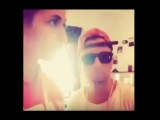 Omer Bhatti rapping with Paris Jackson