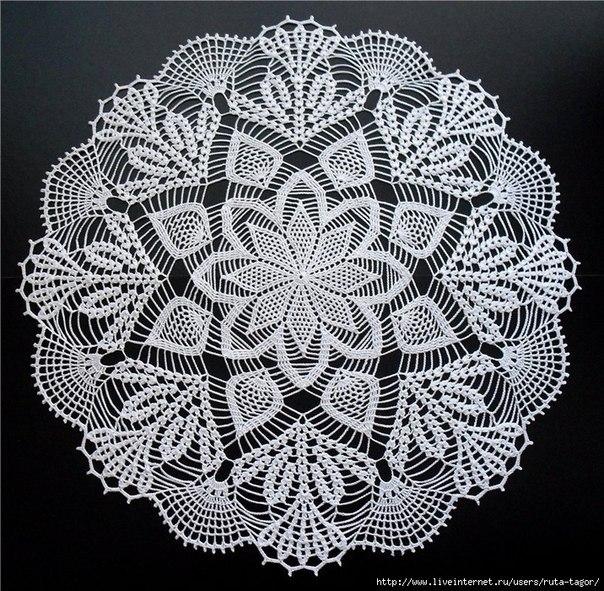 Delicadezas en crochet Gabriela: Dos elegantes centros de mesa