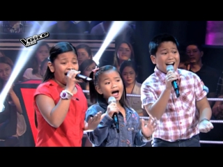 Your Love - Kate, Paul, and Elha | The Voice Kids Philippines 2015 Battle Performance
