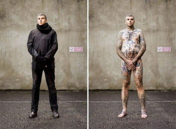 QPkkTLTn A - Какие татуировки иногда скрывает одежда