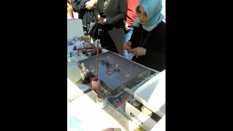 Ebruli- красками по воде