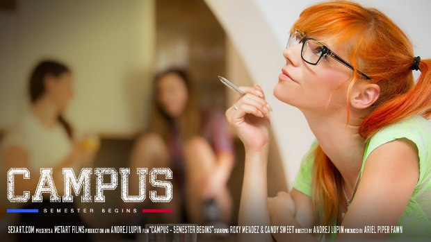 Campus Episode I – Semester Begins – Candy Sweet & Roxy Mendez