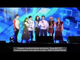 Группа Dschinghis Khan и дуэт Казачья Вольница в Шахтинске.