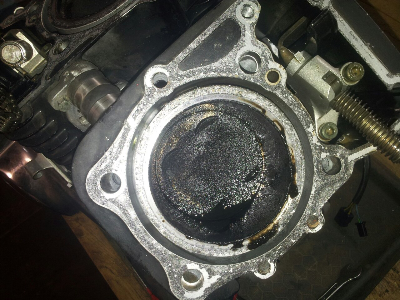 Замена двигателя VZ400 на VZ800