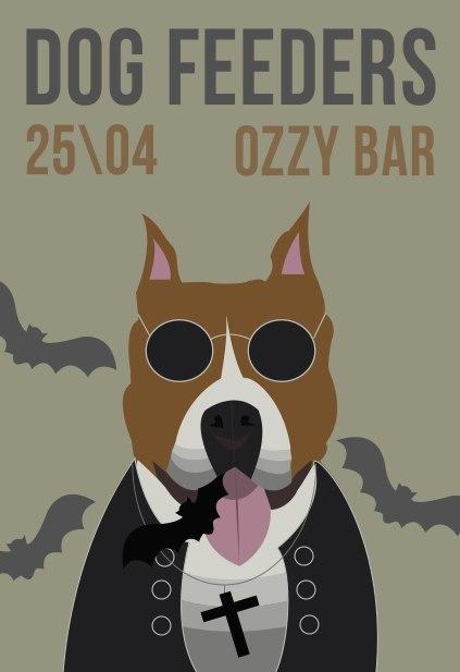 Афиша Владивосток OZZY BAR / DOG FEEDERS / 25.04.15