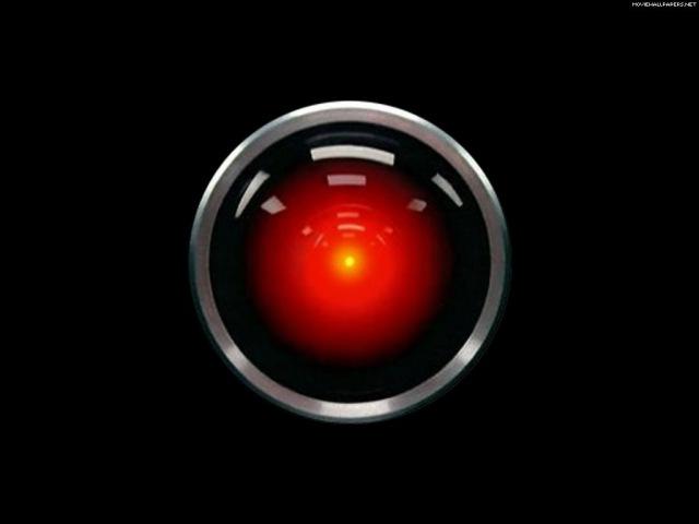 2001 HAL sings DAISY w Keir Dullea n Douglas Rain Stanley Kubrick hare clip
