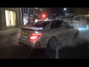 800bhp Weistec Supercharged C63 BURNOUTS, BRUTAL START UP and REVS!