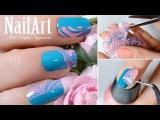 Водный дизайн ногтей без опускания пальчиков в воду / Water Marble Nail Art