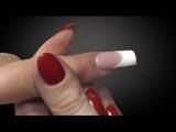 Наращивание ногтей. Видео урок №4 - Френч Vip с идеальной линией улыбки, выкладной, тм «Silver Fox»