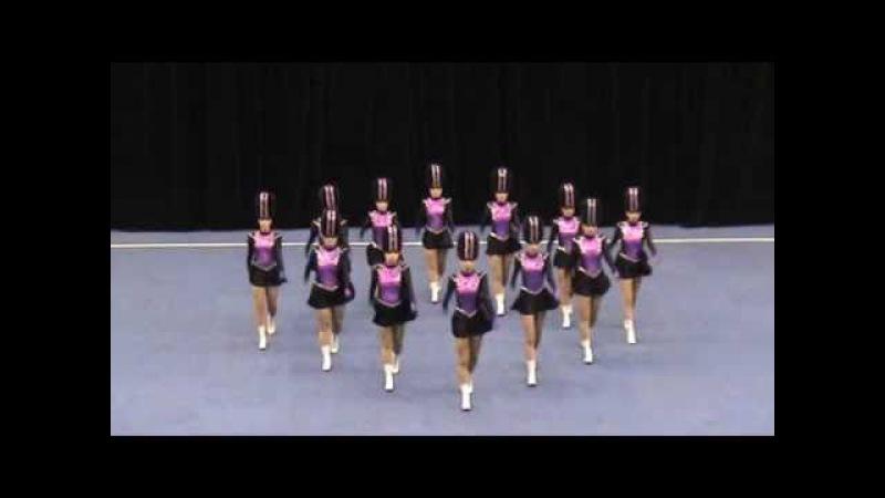 Black Diamond Drill Dance Senior Precision Drill 2011 Australian Champions