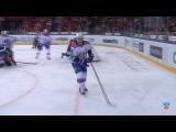 КХЛ (Континентальная хоккейная лига) - Моменты из матчей КХЛ сезона 14/15 - Удаление. Мортенссон Тон
