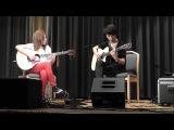 (Sungha Jung) Hazy Sunshine - Sungha Jung and Gabriella Quevedo (LIVE)