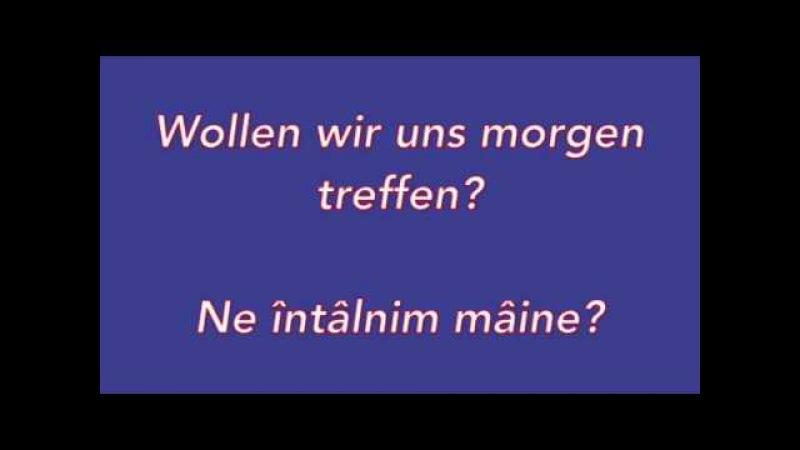 Învatā limba Germanā. Lectia. 24. Întâlnire.