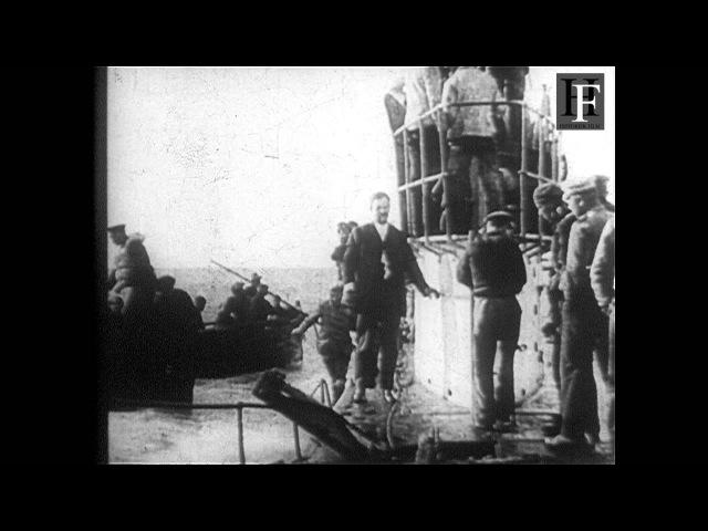 Fantastic German WWI submarine film (1914-1918)